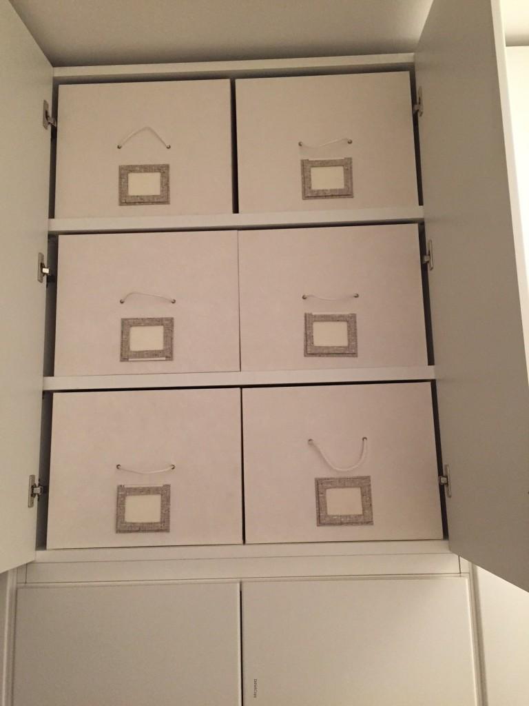 scatole per armadio personalizzate