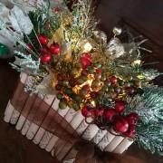 flower box natalizia