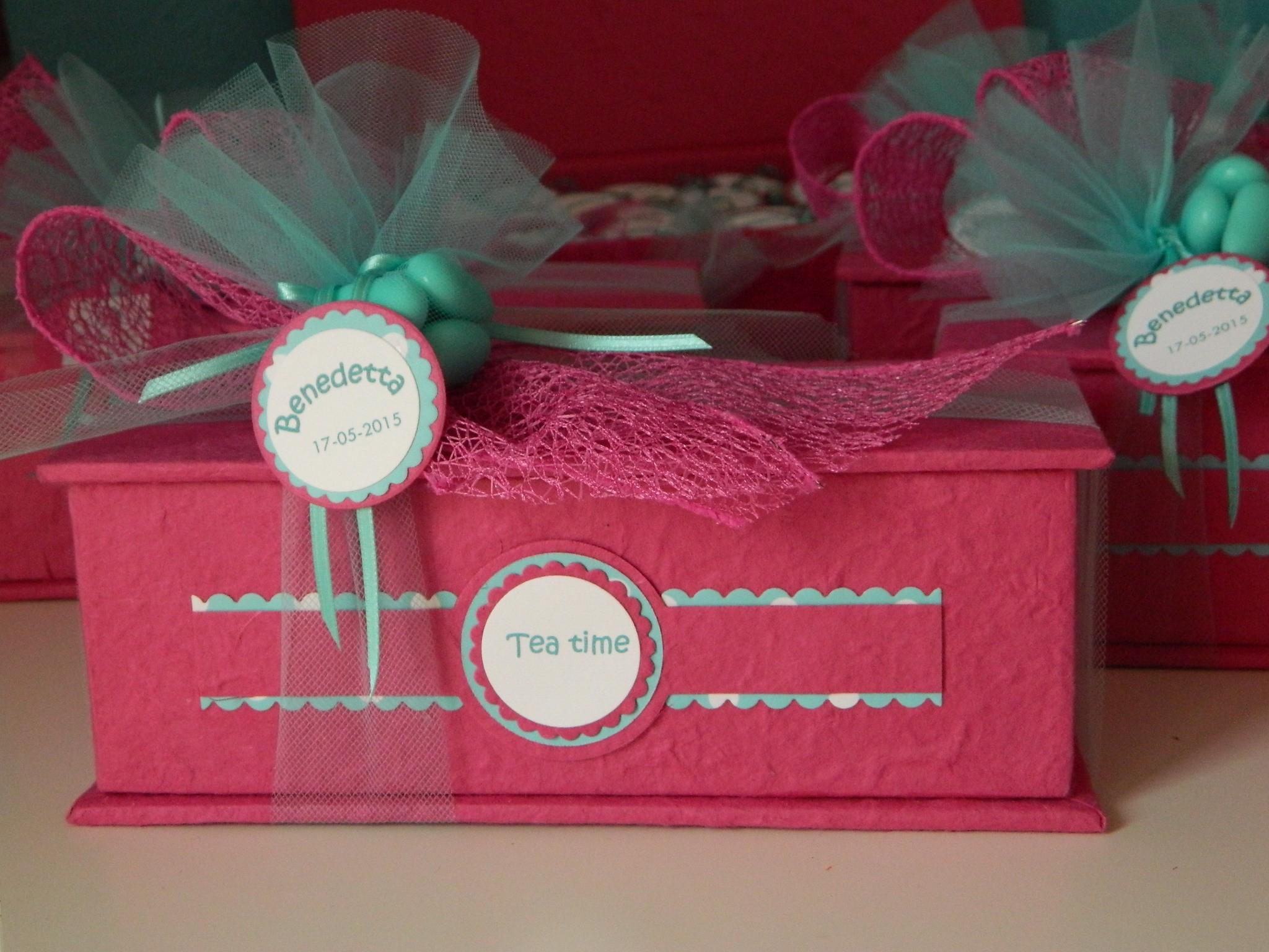 scatola porta tè in carta avoha
